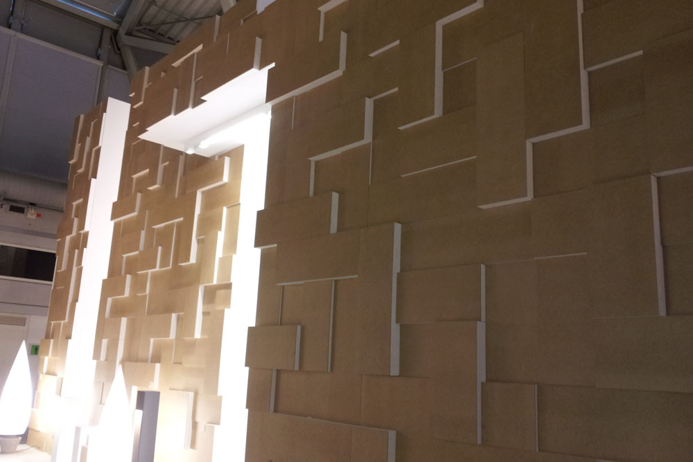 Galaxy design system wall panels photo gallery